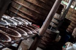 Fermenting Fish Sauce - Hoi An, Vietnam