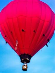 Red Hot Air Balloon, South Carolina