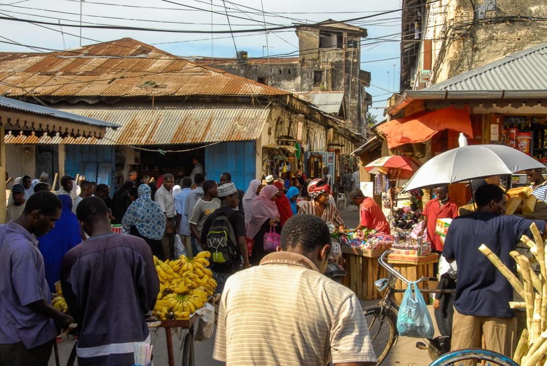 Bustling Zanzibar