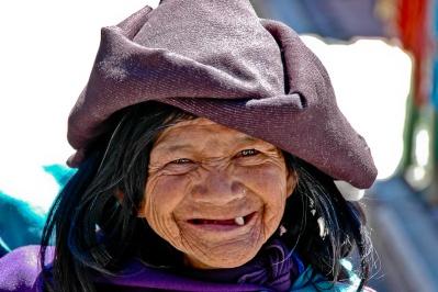 Happy Faces - Otavalo, Ecuador