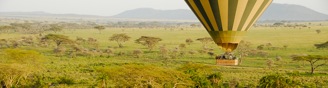 Ballooning Over the Serengeti-