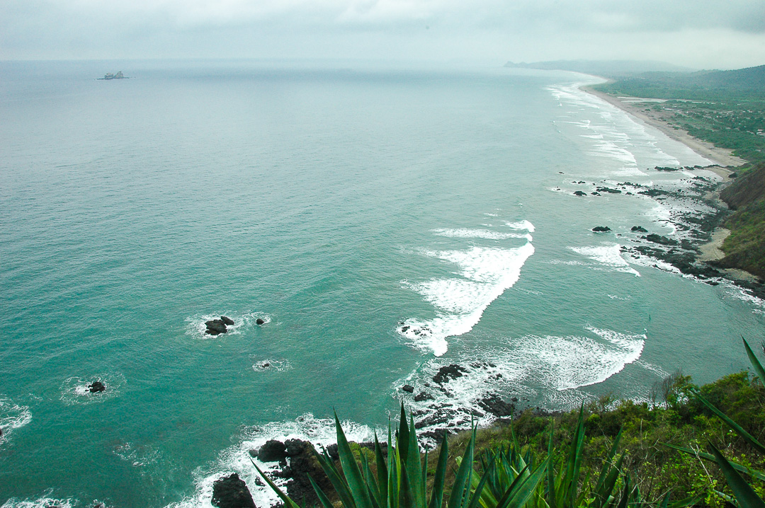 Beyond  the Pacific Coast of Ecuador