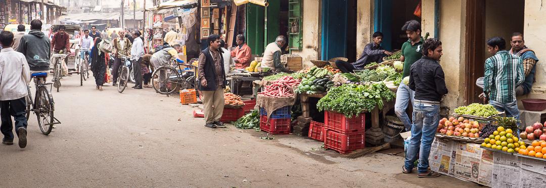 Roads - India, Varanasi