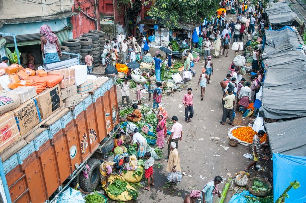 Durga Flower Market