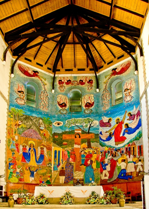 Holy Trinity Cathedral Mural