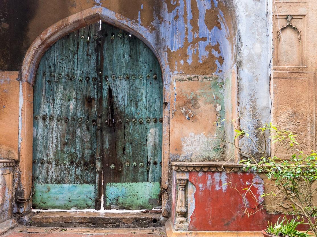 Decaying Grandeur, Vrindivan, India