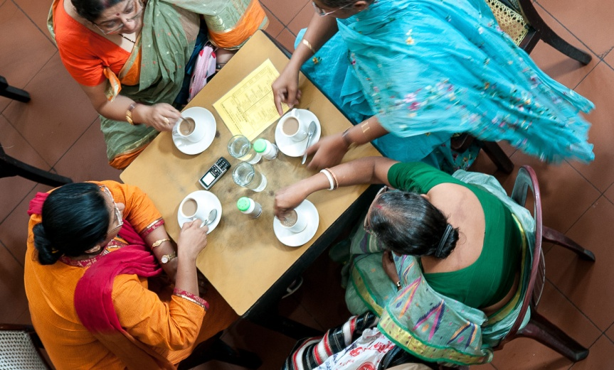Friends at Indian Coffee House photo