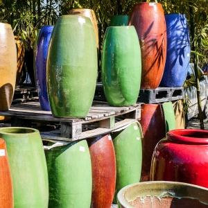 Garden Pottery Photo