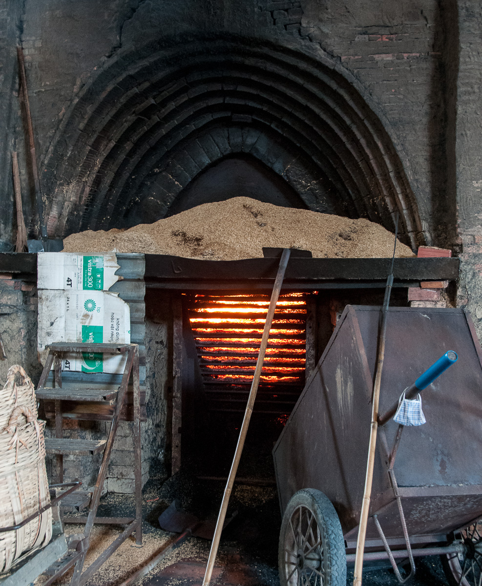 Vietnam Brick kiln Photo