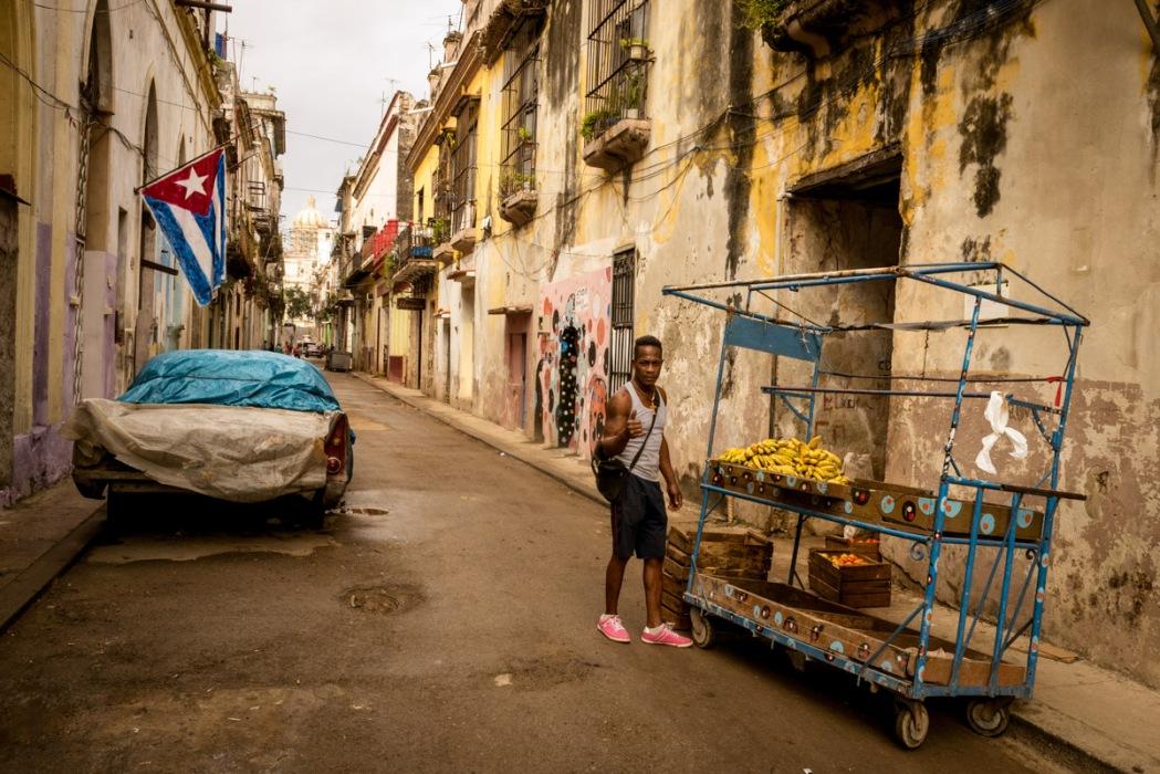 Havana Fruit Vendor