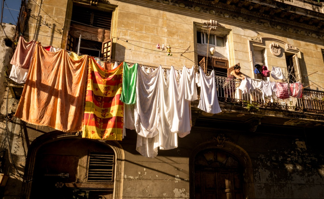 Laundry Day- Havana