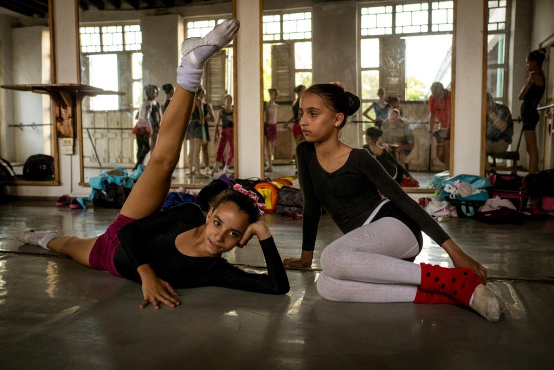 Ballet Practice - Havana, Cuba