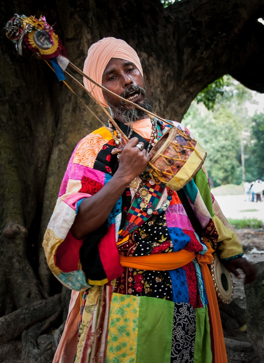 Baul Minstrel of Bengali
