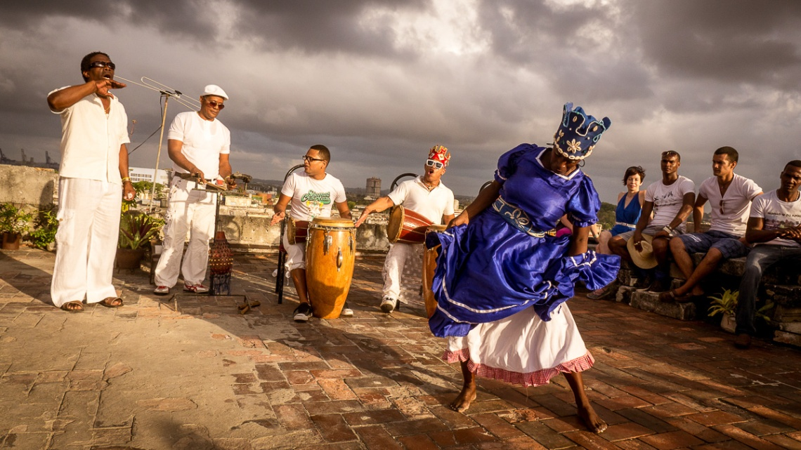 Dancing on the Rooftop - Havana