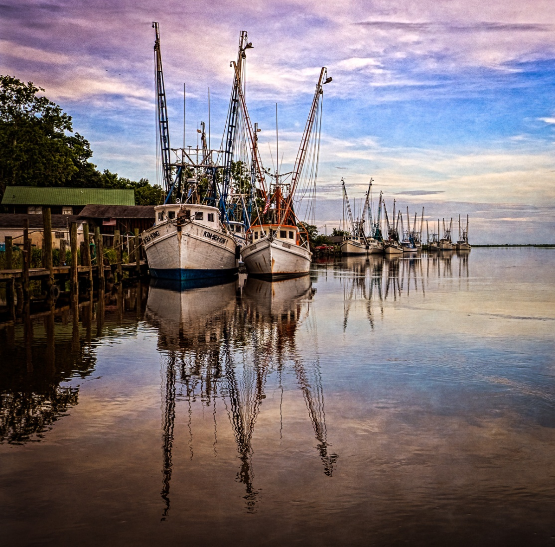 Shrimp Boats, Darien, GA
