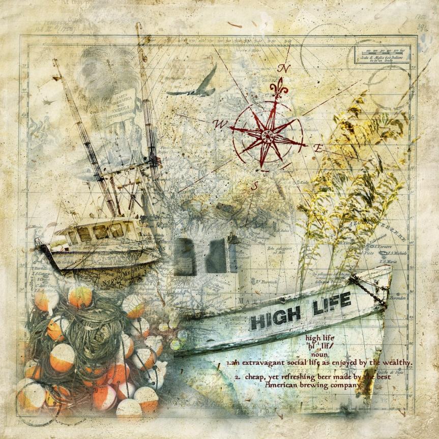 Shrimp Boat named High Lide