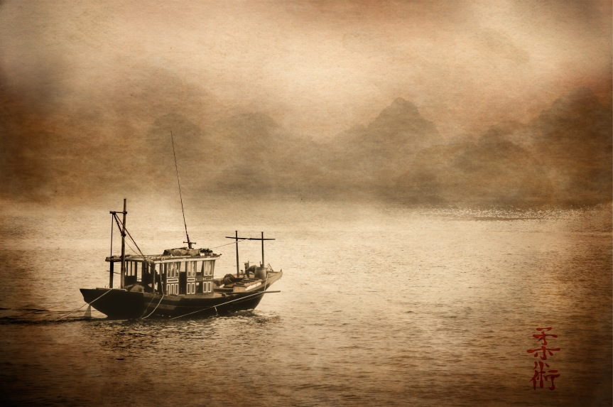 Traversing Halong Bay