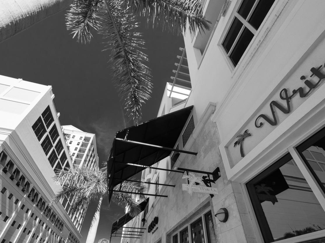 Sarasota in B&W